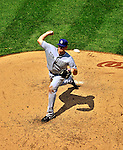 28 May 2011: San Diego Padres starting pitcher Tim Stauffer on the mound against the Washington Nationals at Nationals Park in Washington, District of Columbia. The Padres defeated the Nationals 2-1 to even up their 3-game series. Mandatory Credit: Ed Wolfstein Photo