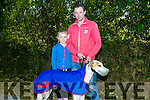 At the  Abbeydorney Coursing on Sunday was Ava and Paudie Lyons with Wiseguy Pat