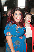 Lisa Riley at The 2013 TRIC Awards Departures at The Great Room The Dorchester Hotel Park Lane London 13 March 2013