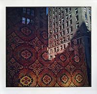 Carpet building, New York City...From the series Fake Polaroids.http://www.stefanfalke.com/.
