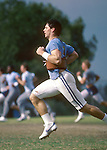 DEC 83 P8<br /> <br /> 8 Steve Young. Running in Practice.<br /> <br /> 1983<br /> <br /> Photo by Mark Philbrick/BYU<br /> <br /> &copy; BYU PHOTO 2009<br /> All Rights Reserved<br /> photo@byu.edu  (801)422-7322