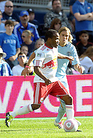 Red Bulls midfielder Dane Richards in action...Sporting Kansas City defeated New York Red Bulls 2-0 at LIVESTRONG Sporting Park, Kansas City, Kansas.