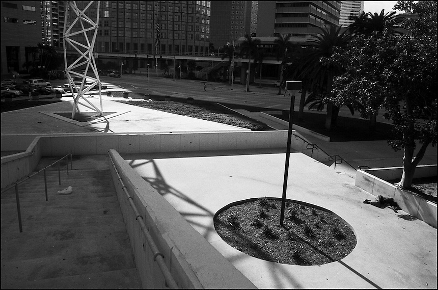 From &quot;Life to waste&quot; series.<br /> Bayside, Downtown Miami, FL