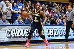 21 February 2016: Georgia Tech's Imani Tilford. The Duke University Blue Devils hosted the Georgia Tech Yellow Jackets at Cameron Indoor Stadium in Durham, North Carolina in a 2015-16 NCAA Division I Women's Basketball game. Georgia Tech won the game 64-59.