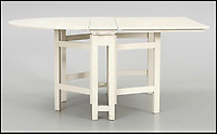 BNPS.co.uk (01202 558833)<br /> Pic: Barnebys/BNPS<br /> <br /> Bergslagen sideboard table worth &pound;2,275.<br /> <br /> Ikea is famous for its low-cost furniture but vintage products from the budget retailer are now selling for up to &pound;50,000. <br /> <br /> The shockingly high prices are a result of a burgeoning market for furniture from the second half of the 20th century, when IKEA made its name. <br /> <br /> Within the last year the value of the Swedish manufacturer's most iconic designs have rocketed past their retail cost. <br /> <br /> Recently IKEA's 1944 'mushroom' or 'clam chair', measuring 30ins by 30ins, sold for &pound;50,000 - more than any other individual IKEA product on the market today.