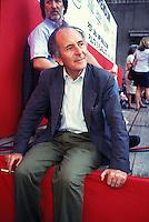 Valentino Parlato, giornalista e fondatore del Quotidiano Il Manifesto