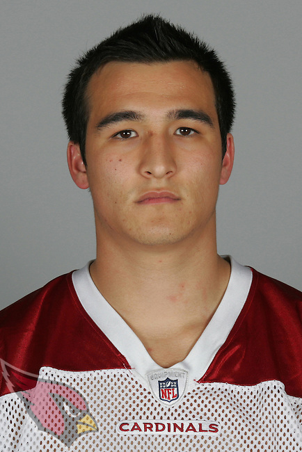 This is a 2009 photo of Shane Morales of the Arizona Cardinals football team.