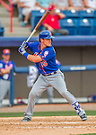 3 March 2016: New York Mets infielder Matt Reynolds in action during a Spring Training pre-season game against the Washington Nationals at Space Coast Stadium in Viera, Florida. The Mets fell to the Nationals 9-4 in Grapefruit League play. Mandatory Credit: Ed Wolfstein Photo *** RAW (NEF) Image File Available ***