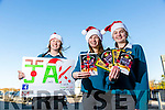 Mercy Mounthawk Transition Year students Katie Nagle, Jenny Fox and  Amy O'Mahony   have made Christmas Cards to sell with some proceeds going to the Kerry Cork Health Link Bus