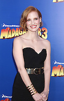 Jessica Chastain at the NY premiere of Madagascar 3: Europe's Most Wanted at the Ziegfeld Theatre in New York City. June 7, 2012. © RW/MediaPunch Inc.