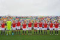 Norwegian Women's National Team Starting Lineup Photo