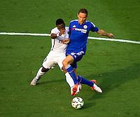 Chelsea vs. Paris Saint-Germain during their International Champions Cup match at Bank of America Stadium in Charlotte, North Carolina. Chelsea won 2-1 on penalty kicks.<br /> <br /> Charlotte Photographer - PatrickSchneiderPhoto.com