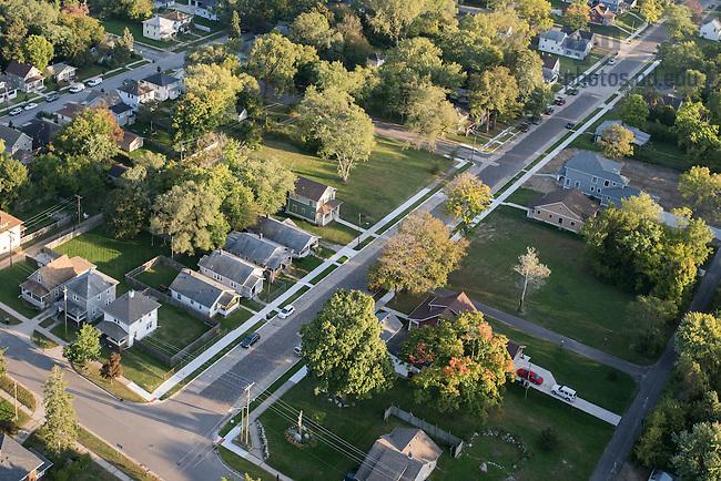 Oct. 7, 2015; Hill Street. (Photo by Matt Cashore/University of Notre Dame)