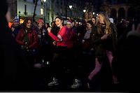 flash mob : ragazze danzano