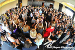 Hora and dancing during gala, elegant  Bat Mitzvah at the 65th floor ballroom of the  Mandarin Oriental Hotel.  ..