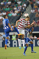 Stuart Holden #11 of the USMNT battles against Honduras on July 24, 2013 at Dallas Cowboys Stadium in Arlington, TX. USMNT won 3-1.