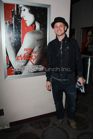 """BEVERLY HILLS, CA - FEBRUARY 28: Yuri Lowenthal at the """"Everly"""" Opening Weekend Splatter-Ganza at Laemmle's Music Hall, Beverly Hills, California on February 28, 2015. Credit: David Edwards/DailyCeleb/MediaPunch"""
