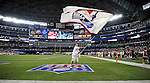 3 December 2009: The Bills in Toronto flag is waved after a scoring play by the Buffalo Bills at a game between the Bills and the New York Jets at the Rogers Centre in Toronto, Ontario, Canada. The Jets defeated the Bills 19-13. Mandatory Credit: Ed Wolfstein Photo