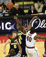 2009 Old Spice Men's Basketball Tournament Michigan Game 3