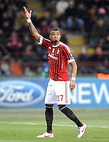 FUSSBALL   CHAMPIONS LEAGUE   SAISON 2011/2012     15.02.2012 AC Mailand - Arsenal London Kevin Prince Boateng (AC Mailand)