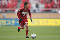 Takuya Nozawa, (Antlers), April 23rd, 2011 - Football : 2011 J.LEAGUE Division 1, 7th Sec match between Kashima Antlers 0-3 Yokohama Marinos at National Stadium, Tokyo, Japan. The J.League resumed on Saturday 23rd April after a six week enforced break following the March 11th Tohoku Earthquake and Tsunami. All games kicked off in the daytime in order to save electricity and title favourites Kashima Antlers are still unable to use their home stadium which was damaged by the quake. Velgata Sendai, from Miyagi, which was hard hit by the tsunami came from behind for an emotional 2-1 victory away to Kawasaki. (Photo by Akihiro Sugimoto/AFLO SPORT) [1080].