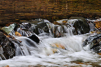 Water flowing over  rocks at Pinkham Creek 24 x 36 signed, original, gallery wrapped wrapped canvas $2,500. Check for availability