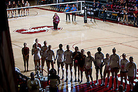 STANFORD, CA - October 15, 2016: Atmosphere at Maples Pavilion. The Cardinal defeated the Arizona State Sun Devils 3-1.