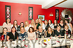 50th Birthday: Mairead Mulvihill, Ballybunion, fourth from left front, celebrating her 50th birthday with family & friends at Eabha Joan's Restaurant , Listowel on Saturday night last.