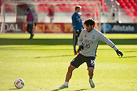 Toronto, ON, Canada - Friday Dec. 09, 2016: Nicolas Lodeiro during training prior to MLS Cup at BMO Field.