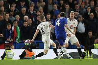 Cesc Fabregas scores Chelsea's fourth goal during Chelsea vs Watford, Premier League Football at Stamford Bridge on 15th May 2017