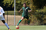 20 September 2015: Stetson's Ian McCauley. The Campbell University Camels hosted the Stetson University Hatters at Eakes Athletics Complex in Buies Creek, NC in a 2015 NCAA Division I Men's Soccer game. Campbell won the game 1-0.