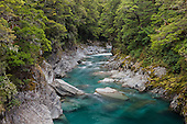 Blue Pools of Haast, Westland, New Zealand