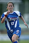 9 August 2003: Brooke O'Hanley. The Carolina Courage tied the Philadelphia Charge 1-1 at SAS Stadium in Cary, NC in the final regular season WUSA game.