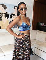 NEW YORK, NY - JULY 14: ***NO NEGATIVE STORIES OR CAPTIONS*** ***HIGHER RATES APPLY*** KeKe Palmer portraits at Langham Place July 14, 2016 in New York City. Photo Credit: Walik Goshorn / MediaPunch