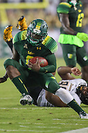 Tampa, FL - September 2, 2016: South Florida Bulls quarterback Quinton Flowers (9) runs the ball during game between Towson and USF at the Raymond James Stadium in Tampa, FL. September 2, 2016.  (Photo by Elliott Brown/Media Images International)