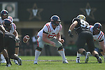 Ole Miss' Evan Swindall (56) in Nashville, Tenn. on Saturday, September 17, 2011. Vanderbilt won 30-7..