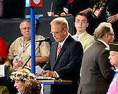 Former Governor Ted Strickland (Democrat of Ohio) proposes amendments to the Democratic Party Platform that recognizes Jerusalem as the capital of Israel at the 2012 Democratic National Convention in Charlotte, North Carolina on Wednesday, September 5, 2012.  .Credit: Ron Sachs / CNP.(RESTRICTION: NO New York or New Jersey Newspapers or newspapers within a 75 mile radius of New York City)