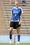 28 August 2009: Duke's Gretchen Miller. The Duke University Blue Devils lost 1-0 to the University of North Carolina Greensboro Spartans at Fetzer Field in Chapel Hill, North Carolina in an NCAA Division I Women's college soccer game.