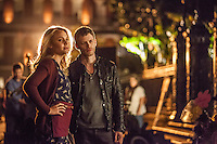 """Leah Pipes as Camille and Joseph Morgan as Klaus in the The Vampire Diaries spinoff """"The Originals"""""""