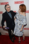 Sam Rudy and Molly Ringwald attend the Broadway Opening Night Performance of  'Indecent' at The Cort Theatre on April 18, 2017 in New York City.