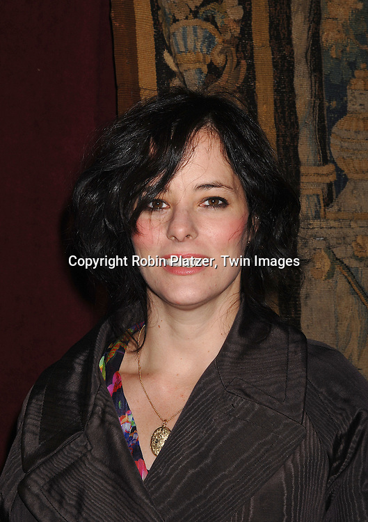 Parker Posey ..arriving at The 7th on Sale Black Tie Gala Dinner on ..November 15, 2007 at The 69th Regiment Armory in New York. The Fashion Industry's Battle Against HIV and AIDS..will benefit...Robin Platzer, Twin Images