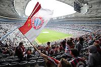 FUSSBALL  CHAMPIONS LEAGUE  SAISON 2012/2013  FINALE  Borussia Dortmund - FC Bayern Muenchen         25.05.2013 Fans beim Public Viewing in der Allianz Arena in Muenchen.