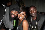 "Jamaal Pollard aka Mali Music, Sonyae Elise and Akon Attend BET's Music Matters ""Best of 2012"" Holiday Showcase At S.O.Bs, NY   12/11/12"