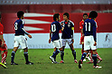 Japan team group (JPN),..FEBRUARY 12, 2011 - Football :..Japan players after the international friendly match between U-22 Bahrain 0-2 U-22 Japan at the Bahrain National Stadium in Manama, Bahrain. (Photo by FAR EAST PRESS/AFLO)