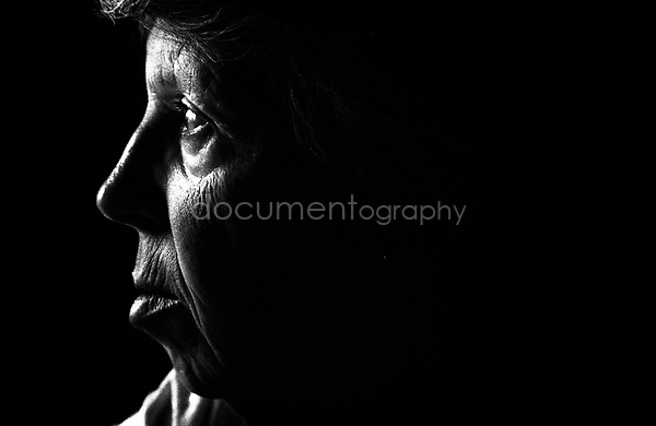 I remember the day I took this picture of my grandmother as it marks the day that my grandmother would finally accepted my mothers advice and let my mother take her to the hospital to get diagnosed...© Magali Corouge/Documentography.2004-2006.France
