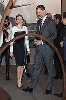 Spanish Royals visit ARCO