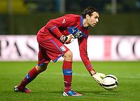 Fussball International  Freundschaftsspiel   14.11.2012 Italien - Frankreich Torwart Salvatore Sirigu  (Italien)