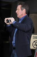 NEW YORK, NY - APRIL 11: Dennis Quaid seen after an appearance on NBC's Today Show in New York City on April 11, 2017. Credit: RW/MediaPunch