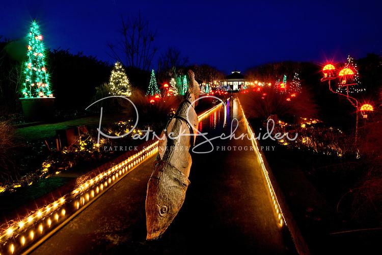 Holiday Lights At The Garden Daniel Stowe Botanical Garden Patrick Schneider Charlotte Nc