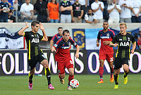 Bridgeview, IL. - Saturday July 26, 2014: The Tottenham Hotspurs defeated Chicago Fire 2-0 in an international friendly at Toyota Park.